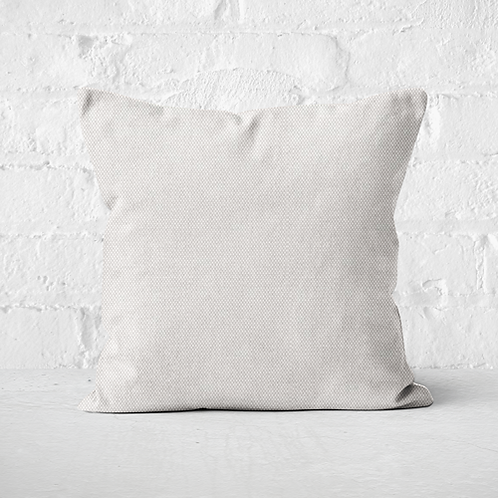 White outdoor pillow cover