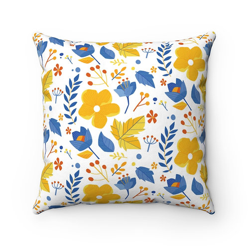 Colorful Ditsy Floral indoor pillow cover