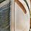 Thumbnail: Blue grey heron outdoor pillow cover