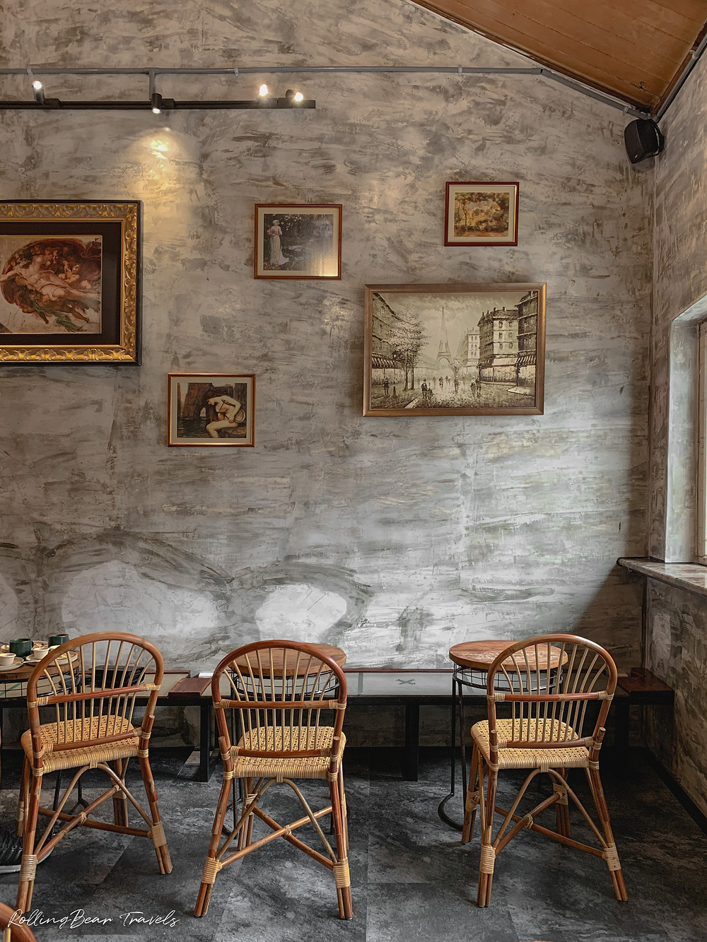 Interior photography of Little Collins Street Cafe, Penang | RollingBear Travels