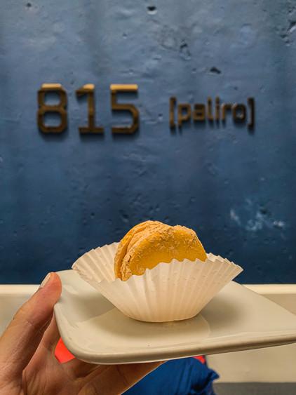 Korean Ddungcaron, 815 Paliro dessert menu | RollingBear Travels.