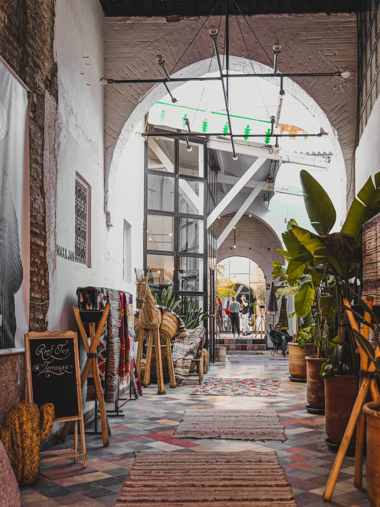 Bohemian lifestyle shop in the Medina souk | RollingBear Travels