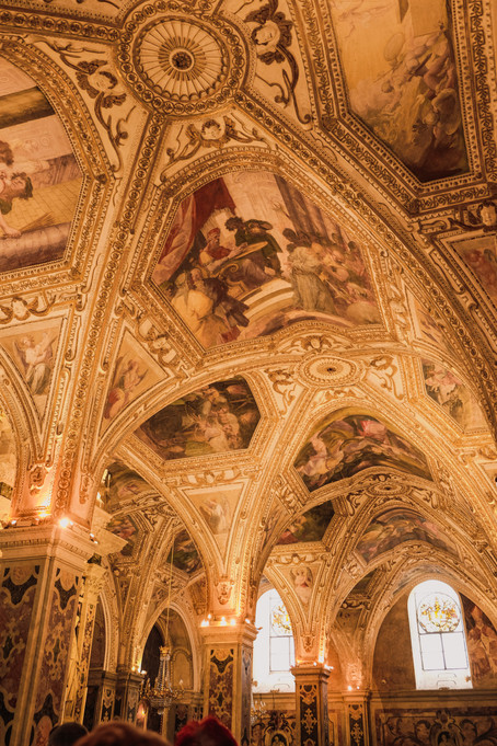 Amalfi Cathedral interior visit: Medieval art and arches | RollingBear Travels.