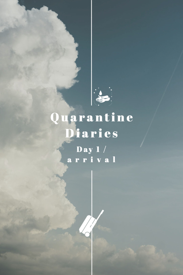 Rollingbear Travels blog/ sky design cover for Quarantine diaries part one in Sama-Sama Hotel, KL