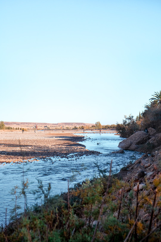 Morocco landscape photography: The Ounila River | RollingBear Travels.