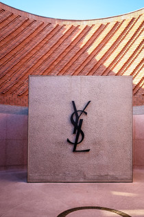 Entrance 'YSL' signage of the YSL Museum, Marrakech | RollingBear Travels