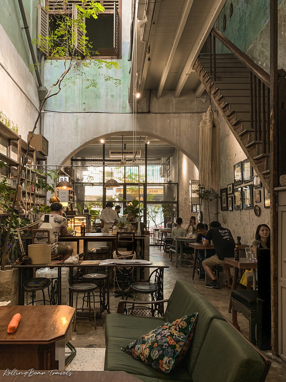 Narrow Marrow Cafe review, Georgetown, Penang, Malaysia | RollingBear Travels.