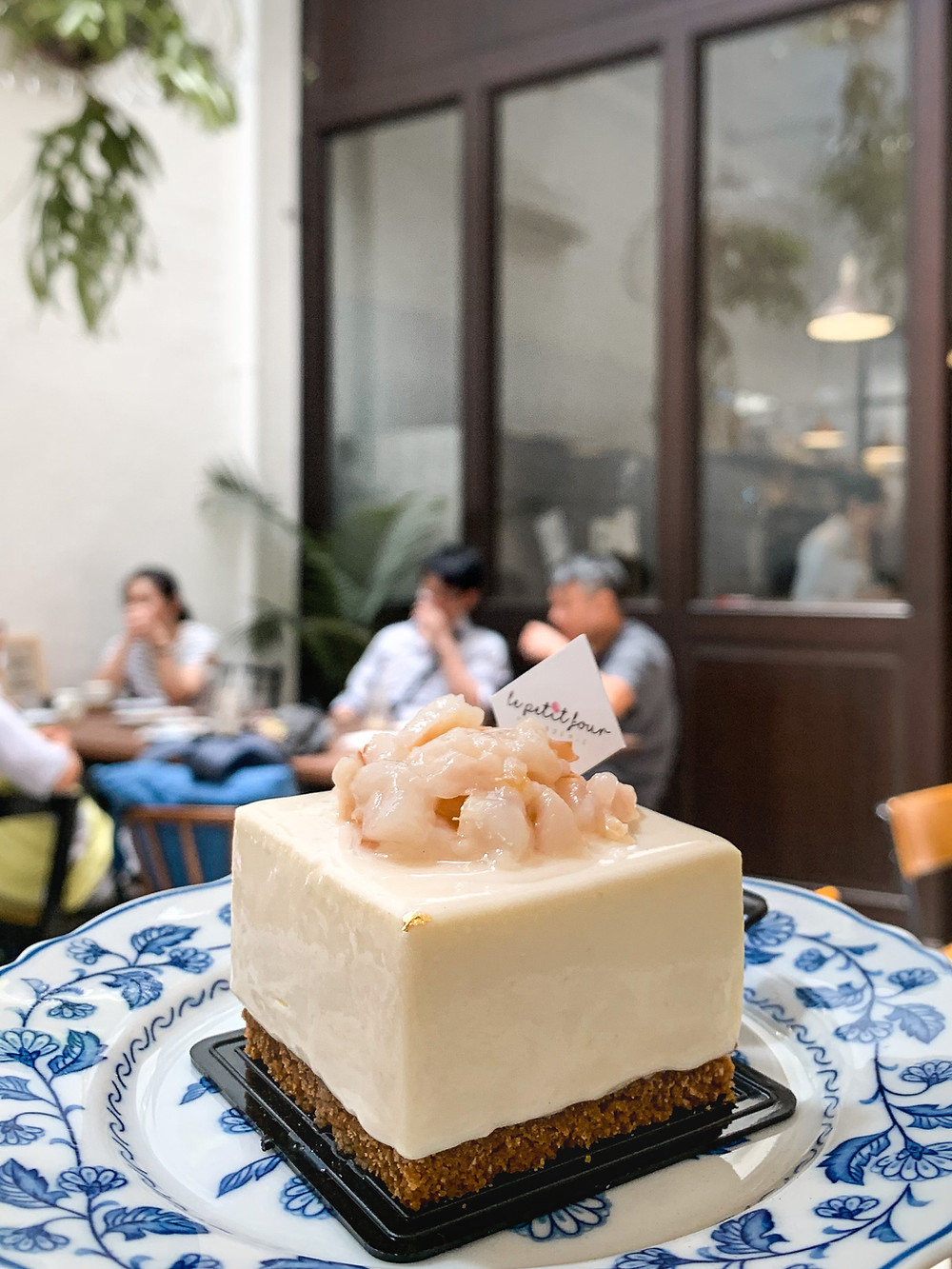 Rose Lychee Cheesecake, Le Petit Four Patisserie, RollingBear Travels