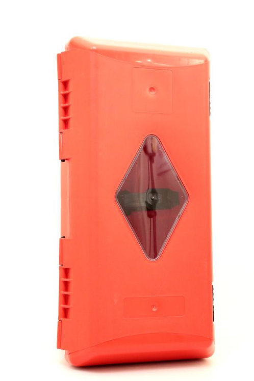 Műanyag tűzoltókészülék tároló doboz