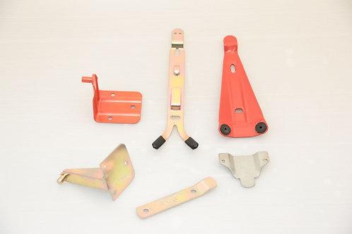 Tűzoltó készülék rögzitő több féle készülékhez