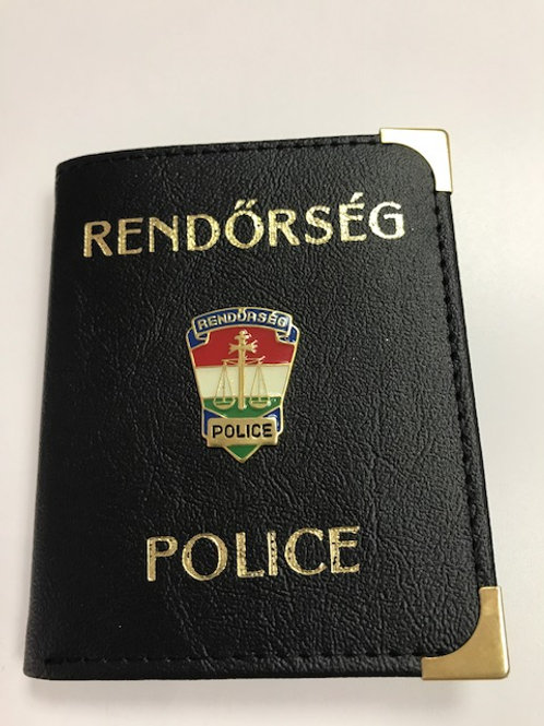 Rendőrség feliratú pénztárca