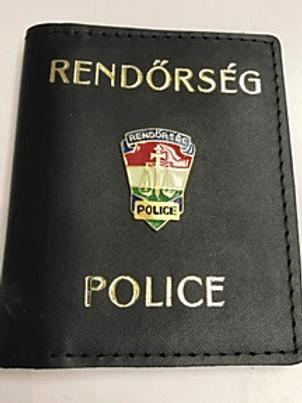 """Igazolványtok """"Rendőrség - Police"""""""