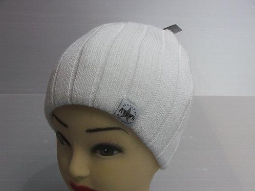 Kötött téli sapka /fehér 005/