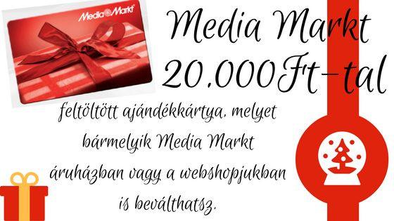 Media Markt ajándékkártyája