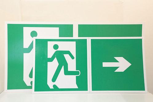 Menekülési biztonsági jel  60X120