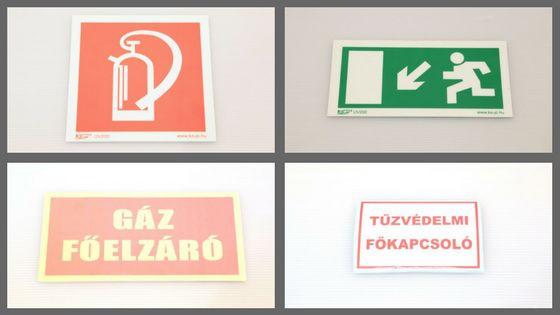 Biztonsági jelek, piktogramok
