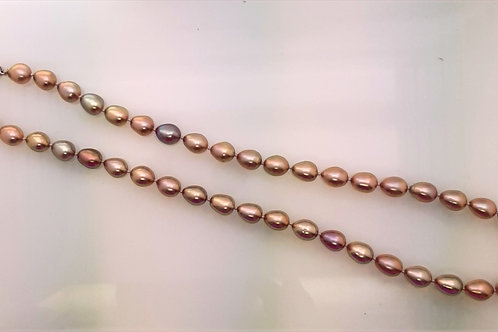 Pear Shaped Freshwater Pearl necklace