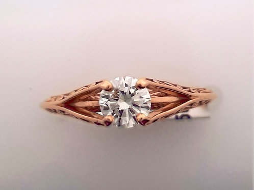 Vintage Inspired Solitaire