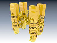 3D printet indistrimodell