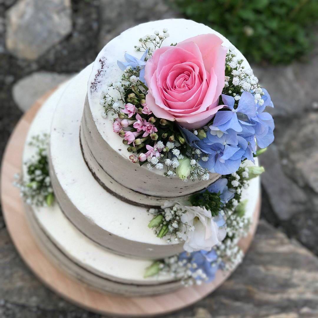 svatební dort naháč