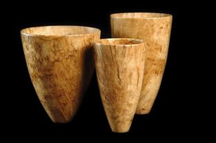 Bur oak vases
