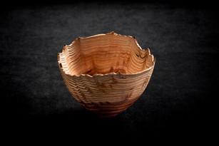 Redwood Burr natural edge bowl