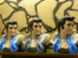 busts of elvis