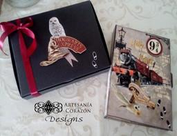Mini Álbum y Libro de Firmas Harry Potter