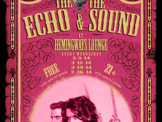 MARCH 2014 RESIDENCY - every WEDNESDAY @Hemingways Lounge in Hollywood