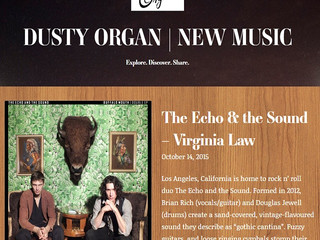 NEW WRITE UP - by DUSTY ORGAN