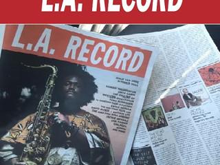 ALBUM REVIEW by LA RECORD MAGAZINE: Issue 119
