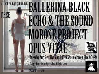 NEW SHOW: 8-5-14 @ The Virgil