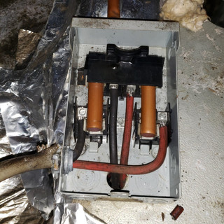 """Copper pipe """"fuse"""""""