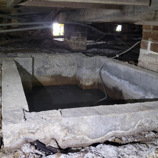 Abandoned sump