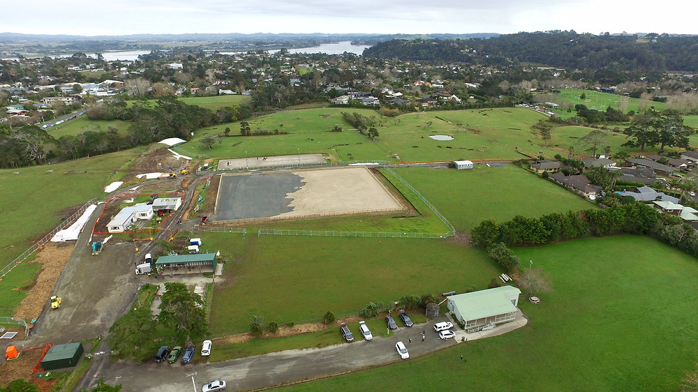 Wainoni Park Pony Club grounds construction 2018