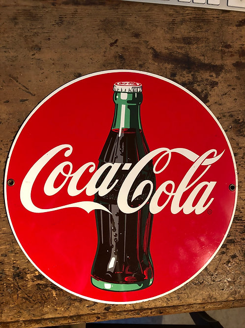 Blechschild Coca-Cola