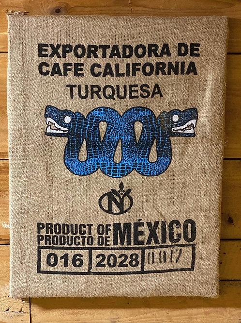 Kaffee Mexico Wandbild