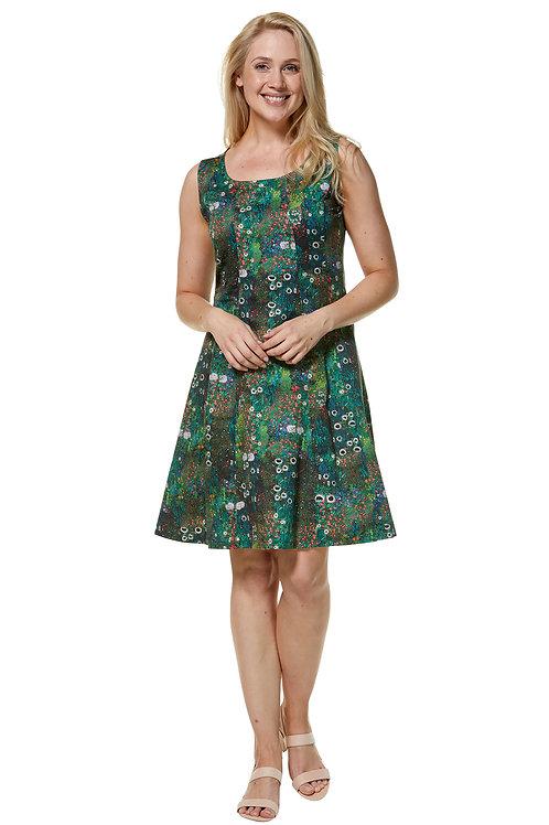 Bedrucktes Blumen-Sommer-Kleid Matilda