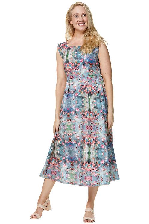 Ärmelloses Midi-Kleid Arabella