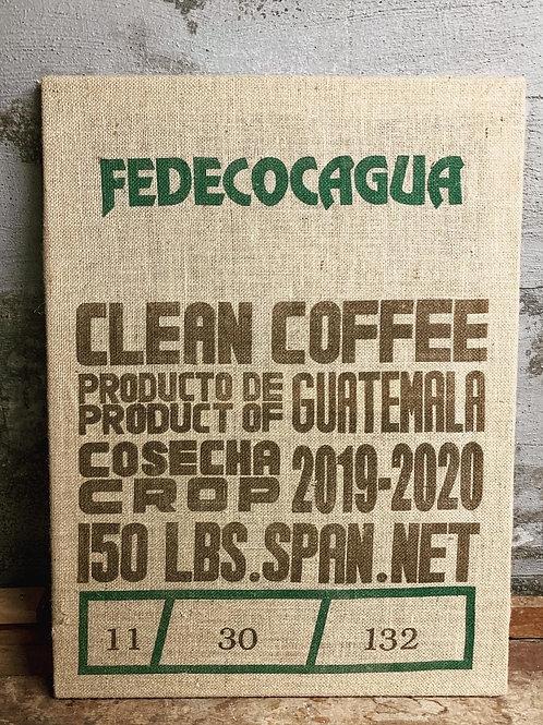 Kaffee Wandbild Guatemala