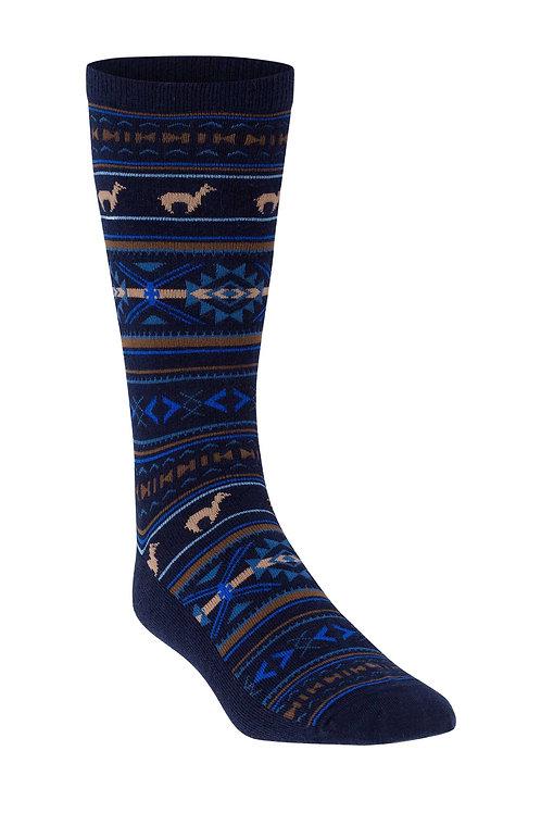 Strick-Socke Premium Jacquard Baby Alpaka