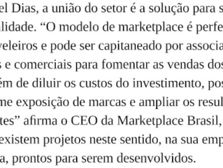 Marketplace Brasil na revista Móveis de Valor
