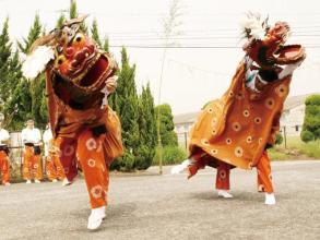 福岡の獅子舞