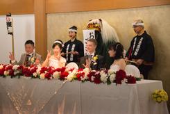 神楽で結婚式