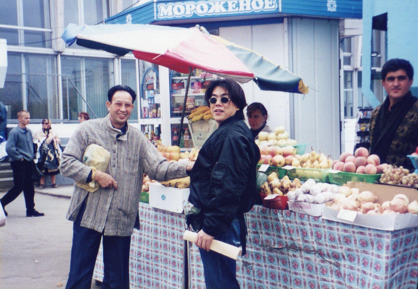 ウラジオストック市場