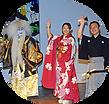 民謡・柿崎竹美と津軽三味線・山中信人、日本舞踊の若月仙之助による和League公演