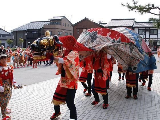 関西の獅子舞