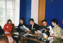モスクワでの記者発表会