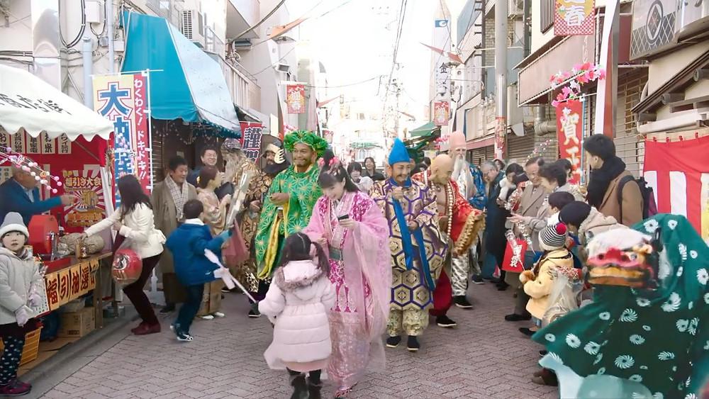 CM撮影 獅子舞のプロデュース