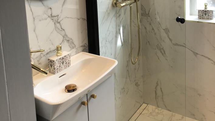 Renovering litet badrum